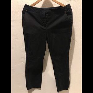 Dana Buchman black dress pants